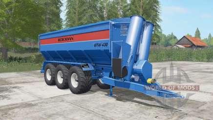Bergmann GTW 430 lochmara para Farming Simulator 2017