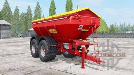 Bredal K165 narrow wheels para Farming Simulator 2017