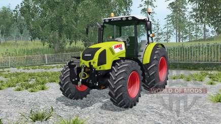 Claas axos, creta, sobe 330 rio grandᶒ para Farming Simulator 2015