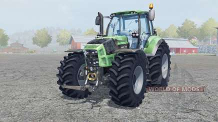 Deutz-Fahr 7250 TTV Agrotron signs of wear para Farming Simulator 2013