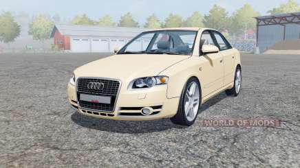 Audi A4 3.0 TDI quattro (B7) 2004 para Farming Simulator 2013