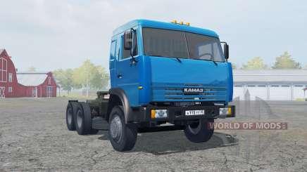 KamAZ-54115 cor azul para Farming Simulator 2013