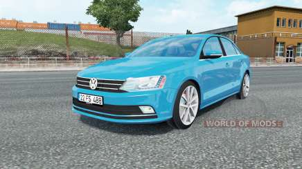 Volkswagen Jetta (Typ 1B) 2015 para Euro Truck Simulator 2