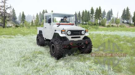 Toyota Land Cruiser Short Bed (FJ45) para MudRunner