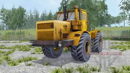 Kirovets K-701 cor laranja para Farming Simulator 2015