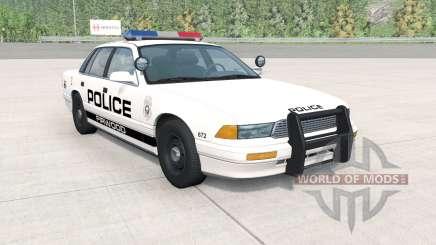 Gavril Grand Marshall Firwood Police v1.1 para BeamNG Drive