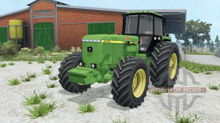 John Deere 4755 wheel options para Farming Simulator 2015