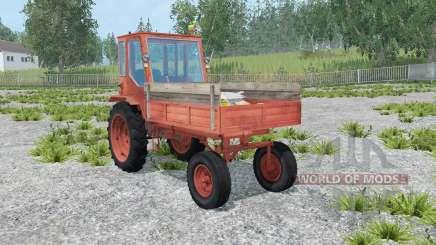 T-16 de luz de cor vermelha para Farming Simulator 2015