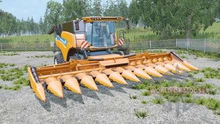 A New Holland CR10.90 três cutteᶉs para Farming Simulator 2015
