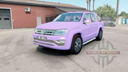 Volkswagen Amarok Double Cab Highline 2016 mauve para American Truck Simulator