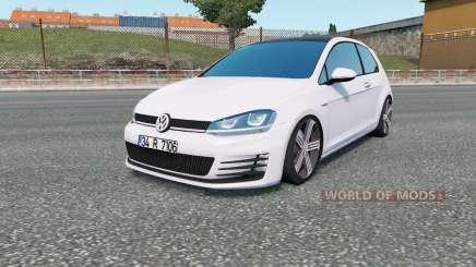 Volkswagen Golf R-Line (Typ 5G) 2013 para Euro Truck Simulator 2