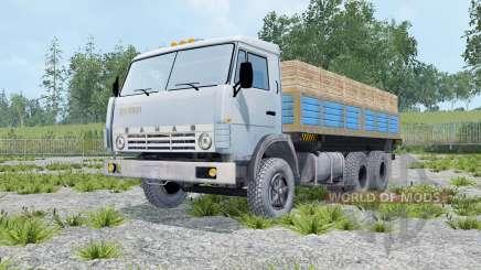 KamAZ 55102 com um trailer para Farming Simulator 2015