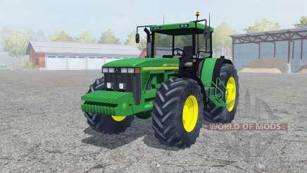 John Deere 8410 north texas green para Farming Simulator 2013