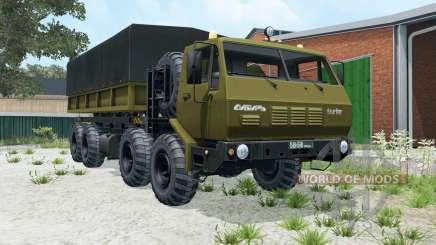KrAZ-7E-6316 8x8 Sibéria para Farming Simulator 2015