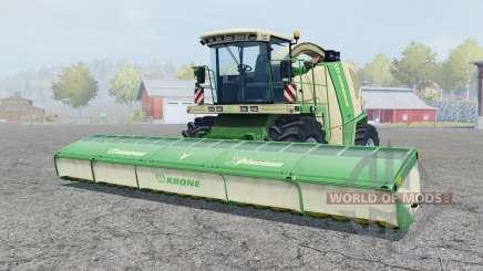 Krone BiG X 1100 pigment green para Farming Simulator 2013