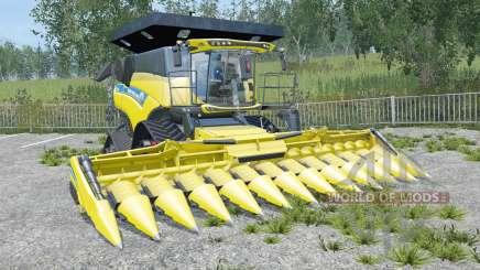 New Holland CR10.90 new exhaust sistem para Farming Simulator 2015
