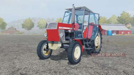 Ursus C-385 coral red para Farming Simulator 2013