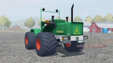 Deutz D 16006 Terra tires para Farming Simulator 2013