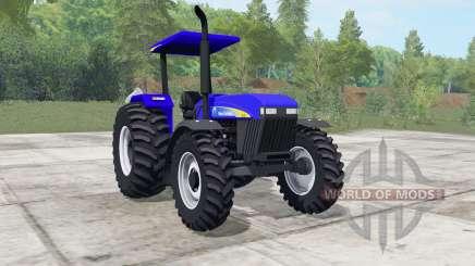 New Holland 7630 ultramarine para Farming Simulator 2017