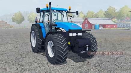New Holland TM 190 deep sky blue para Farming Simulator 2013