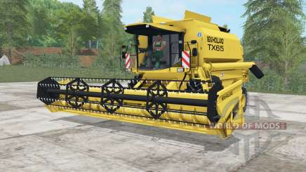 New Holland TX65 sandstorm para Farming Simulator 2017