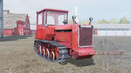 DT-75 macio cor vermelha para Farming Simulator 2013
