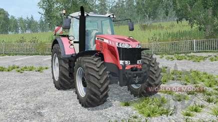 Massey Ferguson 8737 IC control para Farming Simulator 2015