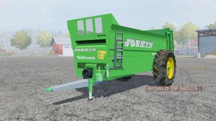 Joskin Siroko 4010-9V para Farming Simulator 2013