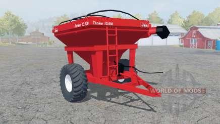 Jan Tanker 10.500 coral red para Farming Simulator 2013