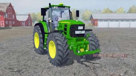 A John Deere 7530 Premium frente loadeᶉ para Farming Simulator 2013