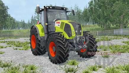 Claas Axion 850 IC control para Farming Simulator 2015