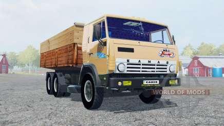 KamAZ-53212 macio, cor de laranja para Farming Simulator 2013