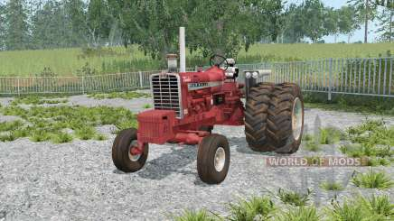 Farmall 1206 dual rear wheels para Farming Simulator 2015