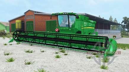 John Deere S690i pantone green para Farming Simulator 2015