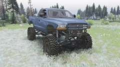 Dodge Dakota Club Cab 1997 para Spin Tires