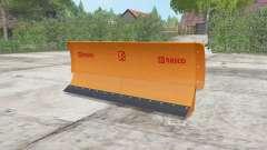 Rasco plow para Farming Simulator 2017