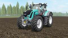 Fendt 927-939 Vario robin egg blue para Farming Simulator 2017