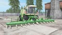 Krone BiG X 1100 buɳker capacidade para Farming Simulator 2017
