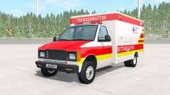 Gavril H-Series German Ambulance v1.2 para BeamNG Drive