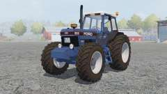 Ford 8630 Powershift cyan cornflower blue para Farming Simulator 2013