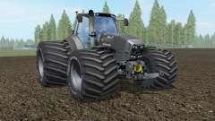 Deutz-Fahr 7250 TTV Agrotron The Beast Black para Farming Simulator 2017