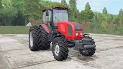 MTZ-Bielorrússia 1822.3 de cor vermelho brilhante para Farming Simulator 2017