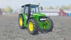 John Deere 5100R manual ignition para Farming Simulator 2013