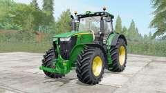 John Deere 7230R-7310R configure para Farming Simulator 2017