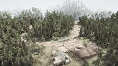 Floresta ladrões para MudRunner
