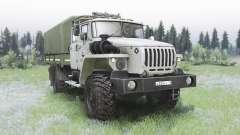 Ural-43206-0551-71М para Spin Tires