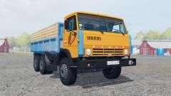 KamAZ-55102 cor laranja brilhante para Farming Simulator 2013