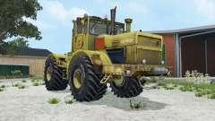 Kirovets K-700A moderadamente cor amarela para Farming Simulator 2015