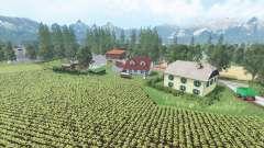Oberwiesen v1.2 para Farming Simulator 2015