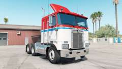 Kenworth K100E pigmento ᶉed para American Truck Simulator